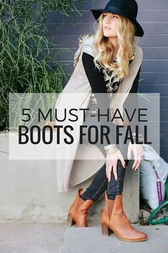 5 Must-Have Women's Boots for Fall | eBay