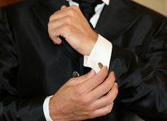 The ideal accessory for a sophisticated dinner suit - the cufflink.