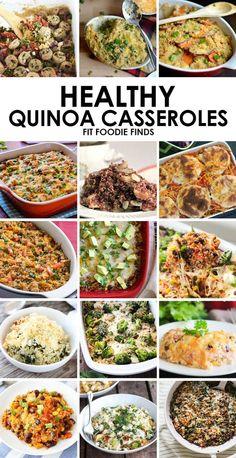 Healthy Quinoa Casserole Recipes #healthy #recipe