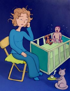 Illustrations on becoming a mother – Eszter Kónya Illustration Cinderella, Disney Characters, Fictional Characters, How To Become, Illustrations, Disney Princess, Design, Art, Art Background