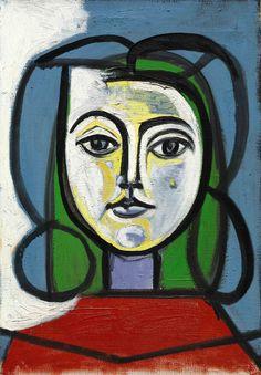 Pablo Picasso, Tête de femme (Portrait de Francoise)