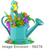 Clipart - Newest Royalty-Free Clip Art, Cartoons & Vector Graphics Royalty Free Clipart, Royalty Free Images, Royalty Free Stock Photos, Plant Painting, Cute Birds, Vector Graphics, Blue Bird, Art Images, Gardens