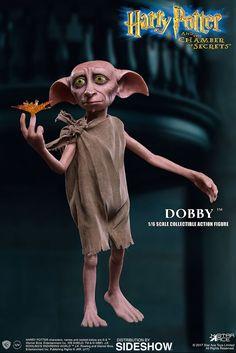 Scale Harry Potter Dobby The House Elf Figure by Star Ace Toys Dobby Harry Potter, Poster Harry Potter, Harry Potter Outfits, Harry Potter Characters, Harry Potter World, Doby The House Elf, Mythical Creatures List, Dobby The Elf, Hobbit