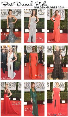 Our favorite looks from the 2014 Golden Globes.
