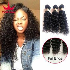 Cheap product ribbon, Buy Quality production seed directly from China product evaluation Suppliers:  8A Indian Deep Wave 3 Bundles Indian Deep Curly Virgin Hair Raw Indian Hair Weave 3 Bundles Curly Weave Human Hair Exte