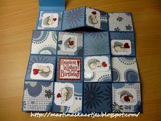 Martina's kaartjes: Boekkaartje met tutorial