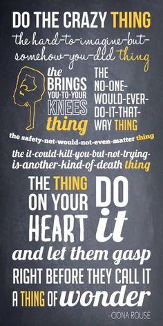 The Crazies' Manifesto. | elephant journal