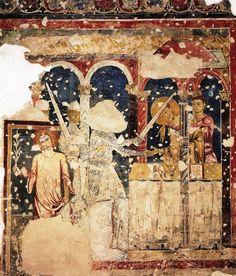 Murder of Thomas Becket, Spoleto, Italy, late 12th-century