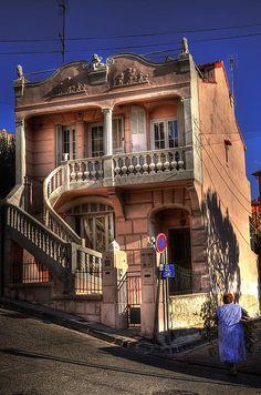 Maison rose, Endoume, Marseille.