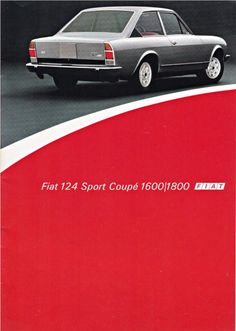 From my private brochure collection. A Dutch brochure of the Fiat 124 Sport Coupé from James Hunt, Mazda, Fiat 500 Pop, Fiat 124 Spider, Porsche 911, Fiat Cars, Car Brochure, Fiat Abarth, Car Museum