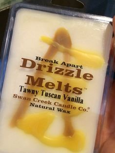 Swan Creek Candle - Drizzle Melts - Tawny Tuscan Vanilla - $7.00 You'll love this new one too'
