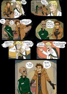 FNV - Six, You Idiot Fallout Comics, Fallout Funny, Fallout Fan Art, Obsidian Entertainment, Pip Boy, Yes Man, Fallout New Vegas, Cute Games, Cartoon Memes