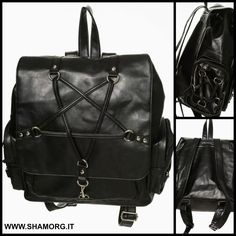 ✝ NEW COLLECTION ✝ We just love this backpack from Banned Apparel! ~❥ ☠  #shamorg #gothicbags