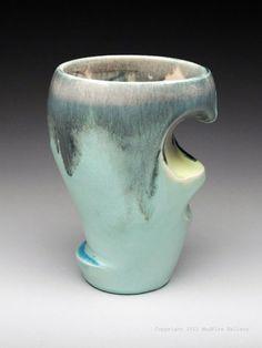 Susan Beiner Tumbler at MudFire Gallery for pottery, ceramics, sculpture, ceramic artist and clay in Atlanta, Decatur, GA