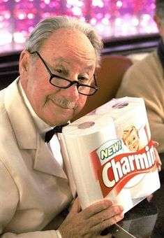 """Whipple """"Please don't squeeze the Charmin."""" Charmin toilet paper hired Dick Wilson to play the role of store manager, Mr. Whipple, in . My Childhood Memories, Sweet Memories, This Is Your Life, In This World, Ed Vedder, Procter And Gamble, Before I Forget, Nostalgia, My Generation"""