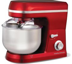 Morphy Richards 400010 Stand Mixer - Red.