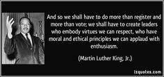 Image result for quotes about voting Vote Quotes, Words Quotes, Funny Quotes, Sayings, Martin Luther King, Justice Quotes, Choices Quotes, Christian Memes, King Jr