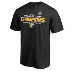 1111182d0 Men s Pittsburgh Penguins Black 2016 Stanley Cup Champions Roster T-Shirt