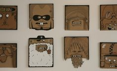 Good Old Cardboard Art : House of Cat