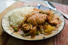 {Slow Cooker} Garam Masala Chicken Curry- omit the potatoes to lower carbs