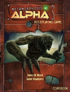 Classic RPG 'Metamorphosis Alpha' Returns in a New Edition