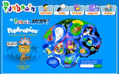 FUNBRAIN - interactive online MATHS and READING games for children.