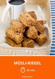 Müsli-Riegel - smarter - Zeit: 45 Min. | eatsmarter.de