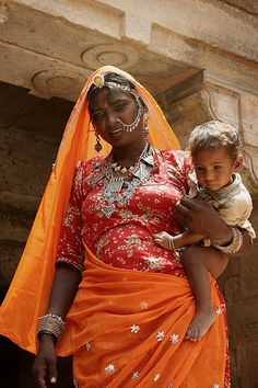 Rajasthan Mother and Child