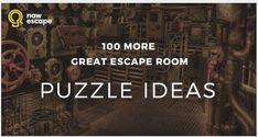 100 Escape Room Puzzle Ideas for spy parties Escape Puzzle, Escape Room Puzzles, Breakout Edu, Breakout Boxes, Escape Room Diy, Escape Room Themes, Escape Room Design, Escape The Classroom, Escape Room Challenge
