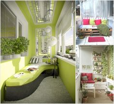 10 big ideas to decorate small space balcony