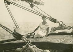 Virigine Hériot, yachtswoman
