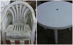 Outdoor Tables, Outdoor Decor, Stool, Household, Neon, Outdoor Furniture, Diy, Home Decor, Gardening