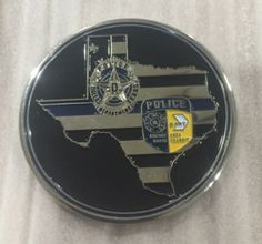 Dallas Police Fallen Officers Challenge Coin July 7, 2016