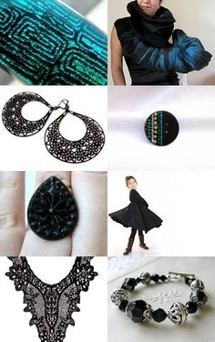 For the New Year -- A Fabulous Etsy Treasury Curated by Yael Scharaby from AndyVeEirn --Pinned with TreasuryPin.com