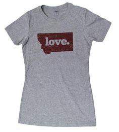 Montana Shirt Co. Ladies LOVE Tee