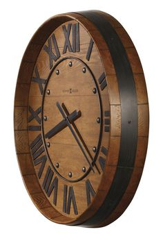 The Wine Barrel Clock, available at www.DublinClockworks.com (wine not inlcuded).