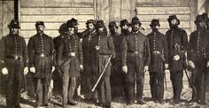 Officers of the Co. B, Palmetto Light Artillery, also known as The Columbia Flying Artillery, of the Third South Carolina Artillery Battalion. (Miller's Photographic History of the Civil War)
