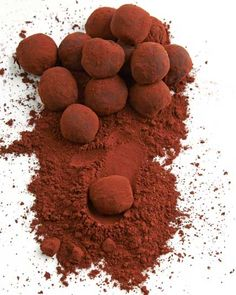 Earl Grey Tea-Infused Chocolate Truffles