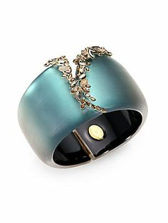 Alexis Bittar Semiprecious Jeweled Lucite Bracelet