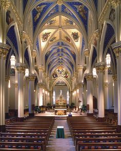 Basilica of the Sacred Heart, University of Notre Dame - Restoration - Portfolio Of Restoration & Original Design | Conrad Schmitt Studios Inc.