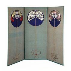Screen panel  Baillie Scott, Mackay Hugh designer  Victoria & Albert Museum