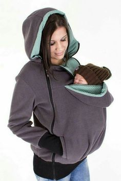 Baby Carrying Jacket, baby carrier coat, hoodie, mother and baby… Maternity Kangaroo baby pocket Hoodie with Babies Carrier Women front carrier Umstandskänguru-Babytasche Hoodie with Babies Carrier Women Front Carrier Artikelzustand: Neu Baby Outfits, Baby Girl Outfits Newborn Winter, Baby Carrier Jacket, Kangaroo Baby, Kangaroo Pouch, Baby Carrying, Mama Baby, Everything Baby, Baby Needs
