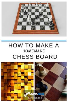 Woodworking Jigsaw Learn how to make a fun, crafty homemade DIY chess board to play at home and share with your friends and family. Suitable for beginners in woodworking!