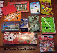 The Craft Patch: Twelve Days of Christmas: A Story And A Treat