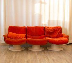 Saturnus sofa / Saturnus sohva Kukkapuro