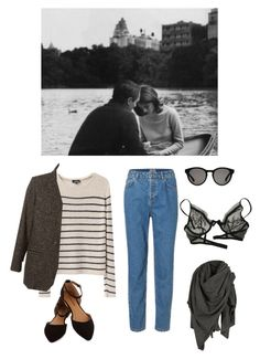 """""""1963"""" by amelia-rosemary ❤ liked on Polyvore featuring A.P.C., AllSaints, Linda Farrow, Christies and Isabel Marant"""