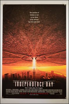 Independence Day (1996) 1 Sheet Movie Poster - Original Movie Posters