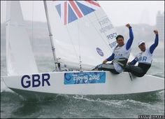 As an island nation, Britain has thousands of sailing enthusiasts. Our passion for the sport has led us to many international victories, like this Beijing Olympic win from 2008.