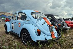 VW Cox Beetle Gulf racing | Flickr - Photo Sharing!