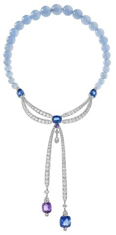 Chaumet necklace. Via The Jewellery Editor. | Diamonds in the Library Love love love!